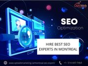Best SEO Experts Agency in Montreal | Optiweb Marketing