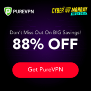 Cyber Monday PureVPN Deal: 60 Months for only $1.32/mo