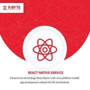 React Native App Development Company in Montreal CANADA   X-Byte