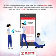 Flutter App Development   X-Byte Enterprise Solutions