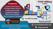 A Perfect VoIP Billing Solution & Software System By Kingasterisk Tech